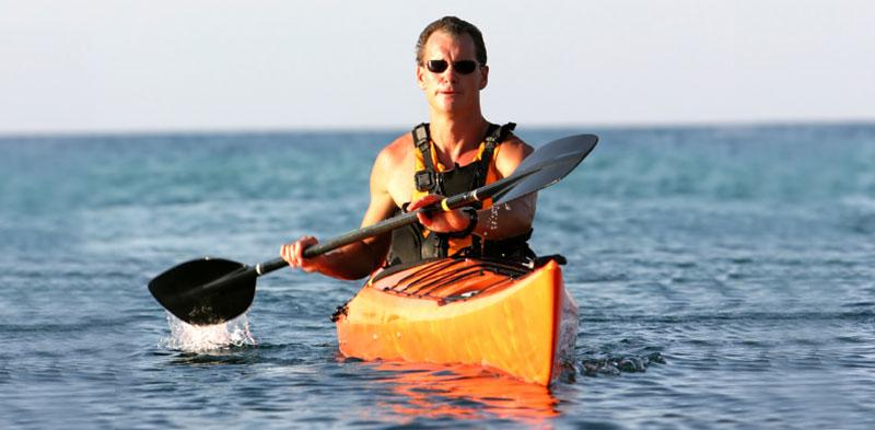 Kayaking and Fishing at Rehoboth Beach