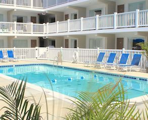 Rooms at The Oceanus Rehoboth Beach
