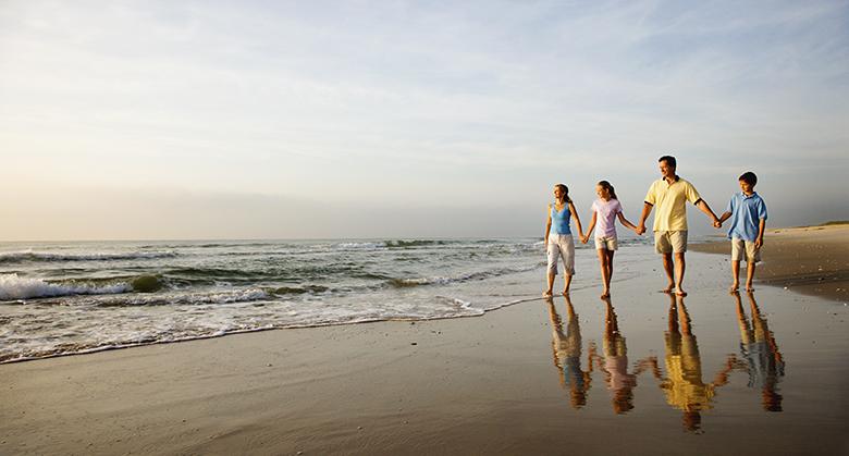 Dewey Beach at Delaware